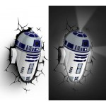 R2-D2 3D Deco Light Star Wars