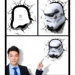 Stormtrooper 3D Light Star Wars
