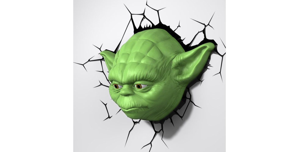 YODA Star Wars 3D Light