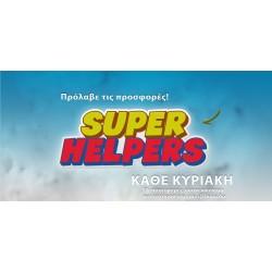 SUPER HELPERS EVERY SUNDAY