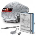 Star Wars Premium Stationery Tin Set Falcon