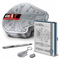 Star Wars Premium Stationery Tin Set Falcon