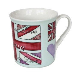 Rebecca Rose Ceramic Mug Love Life