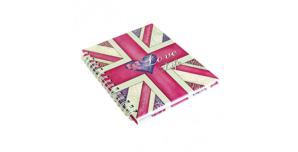 A6 Notebook Rebecca Rose Love Life