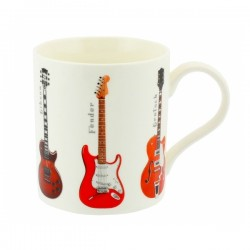 Guitars Boxed Mug