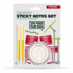 Drummy - Sticky Notes Set