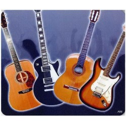 Mouse Mat: Guitar Design