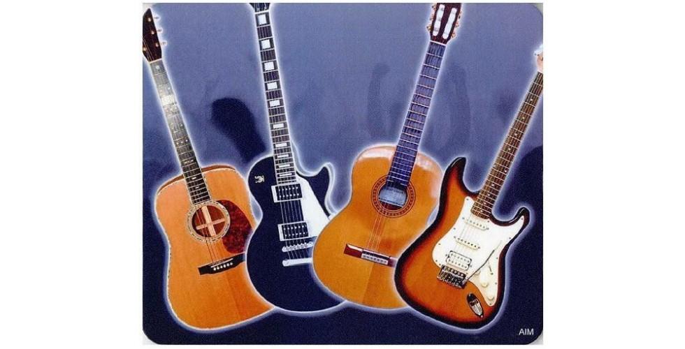 Mouse Mat: Guitar Design