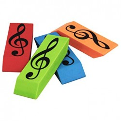 Wedge Eraser Treble Clef