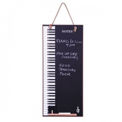 Chalk board Piano Keys
