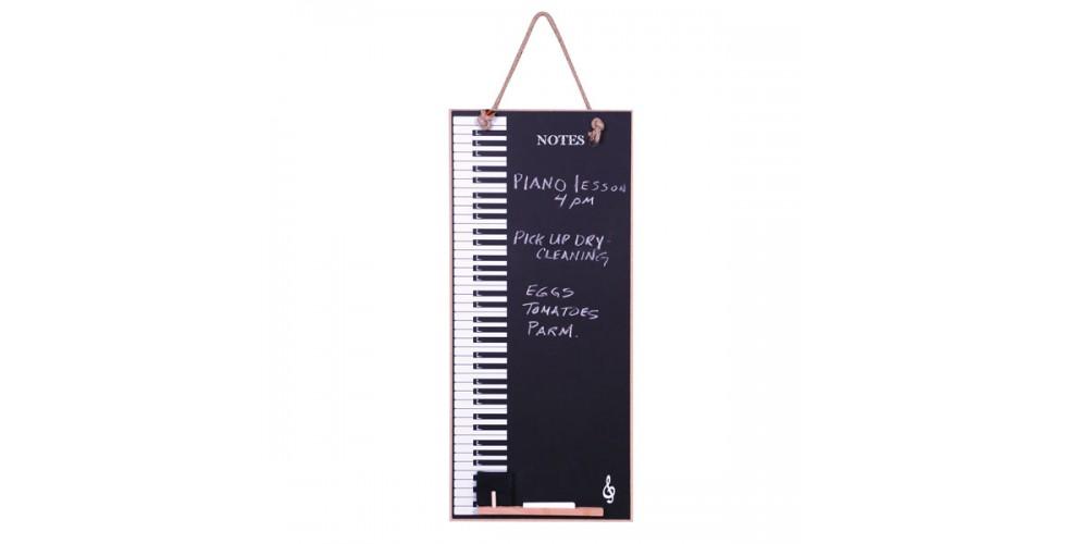 Chalk board Piano Keys