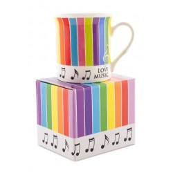 Colour Block Mug Stripes