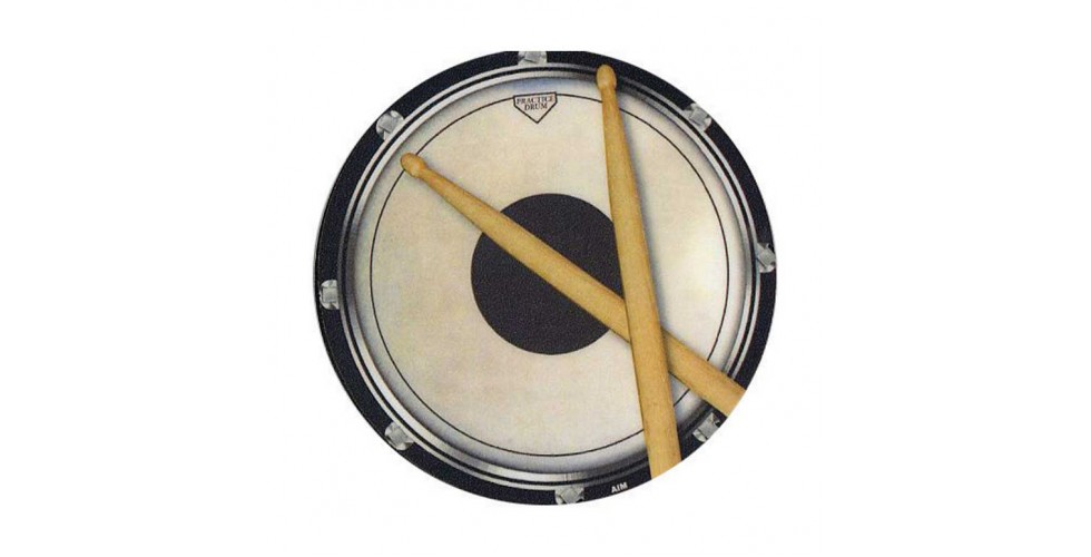 Drinks Coaster Circular Drum