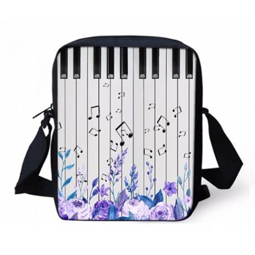 Mini Crossbody Bag Music Note/Piano
