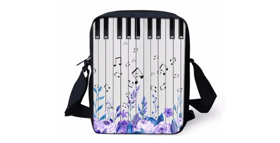 Mini Crossbody Bag Music Note/Piano