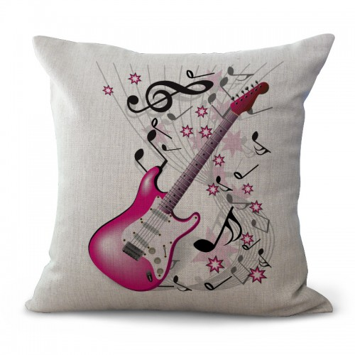 GUITAR Music Pillow