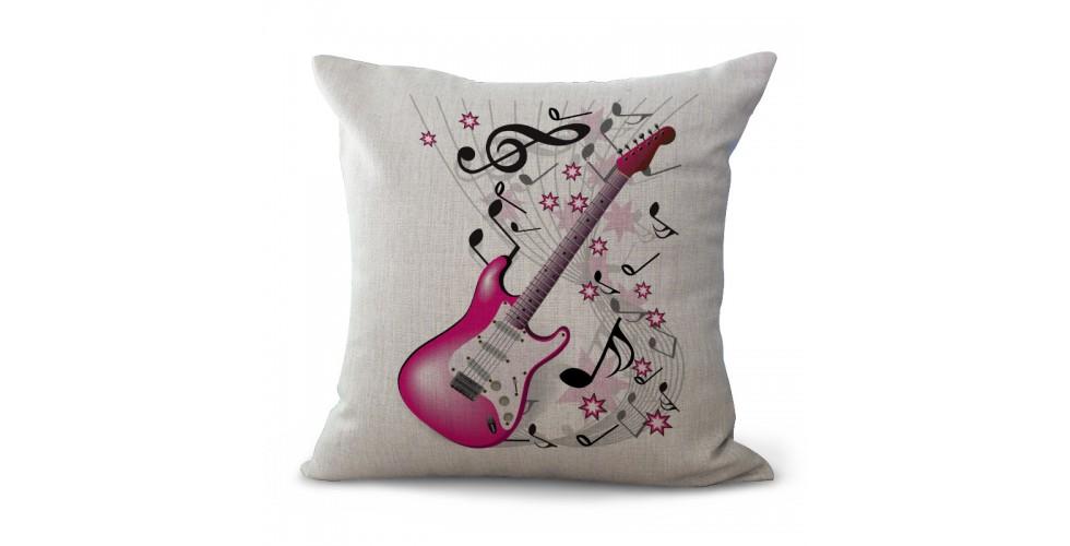 GUITAR Music Pillow