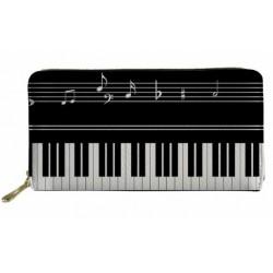 Piano/Keyboard Long Women Wallet