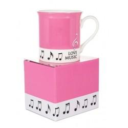 Colour Block Mug Pink