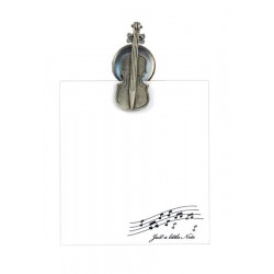 Violin Magnetic Notelet Clip by Clere Concepts