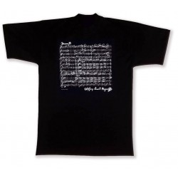 T-Shirt MOZART black L Vienna World