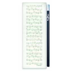 Notepad Sheet music midi magnetic Vienna World