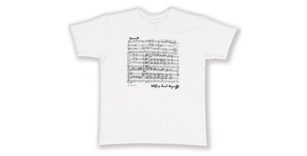 T-Shirt MOZART white S Vienna World