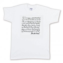 T-Shirt BACH white L Vienna World