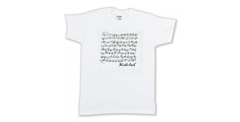 T-Shirt BACH white M Vienna World