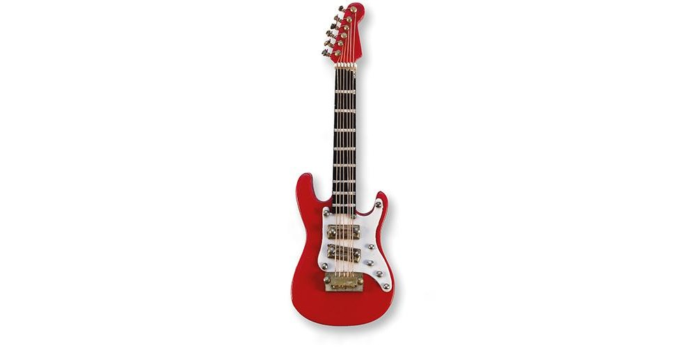 E-Guitar red magnetic Vienna World