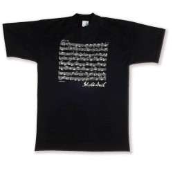 T-Shirt BACH black XL Vienna World