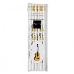 Pencil set GUITAR(6 pcs) Vienna World
