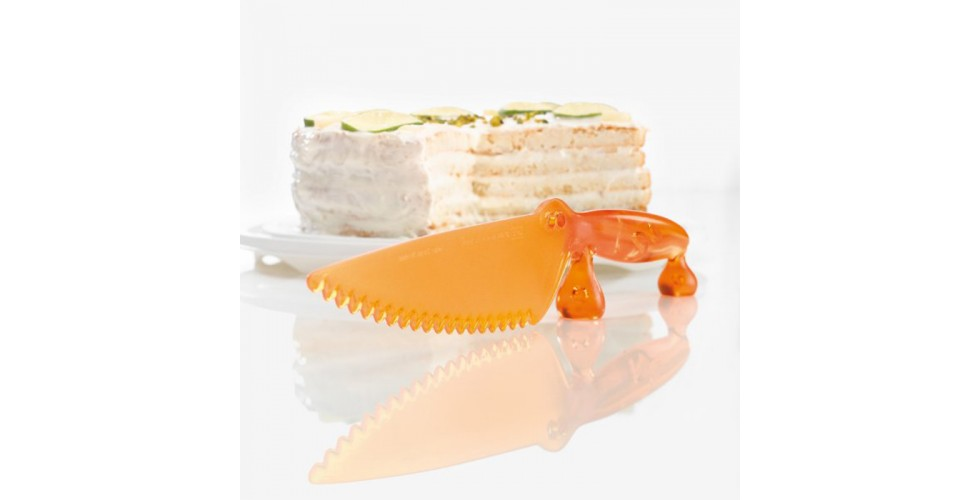 COCO Cake Knife In Crocodile Design Koziol
