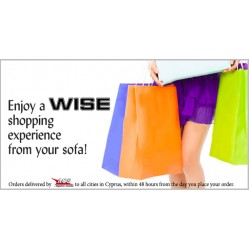 Enjoy a WISE shopping experience from your sofa!