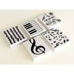 Musical Design Erasers
