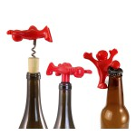 HAPPY MAN Bottle Corkscrew