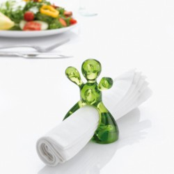 LITTLE JOE Napkin Ring Koziol (set of 6)