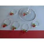 SWAROVSKI Coloured CRYSTAL Wine Glass Charms