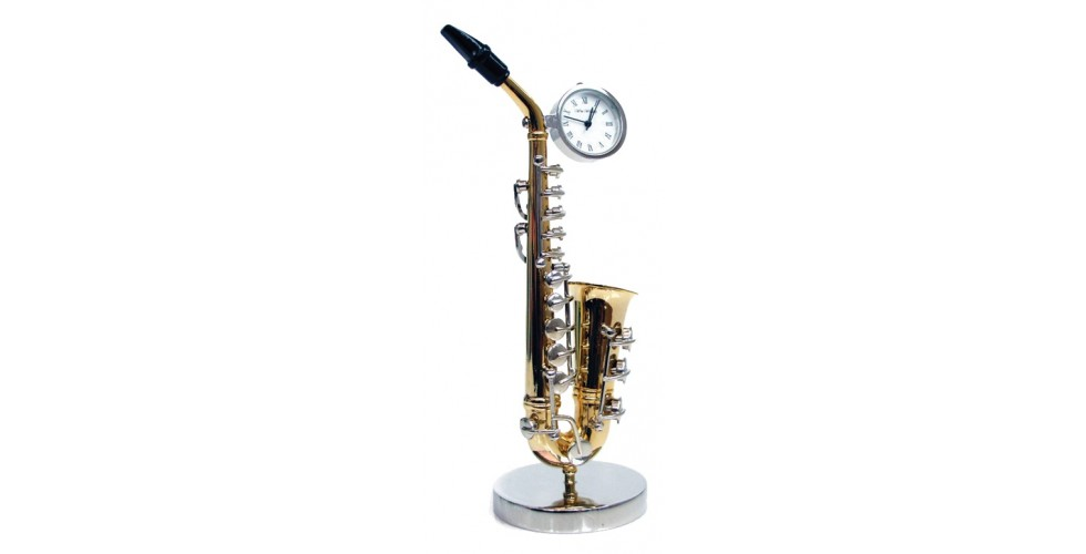 SAXOPHONE Miniature  clock