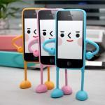 Stylish 3D Silicone Case for I-Phone Appitoz